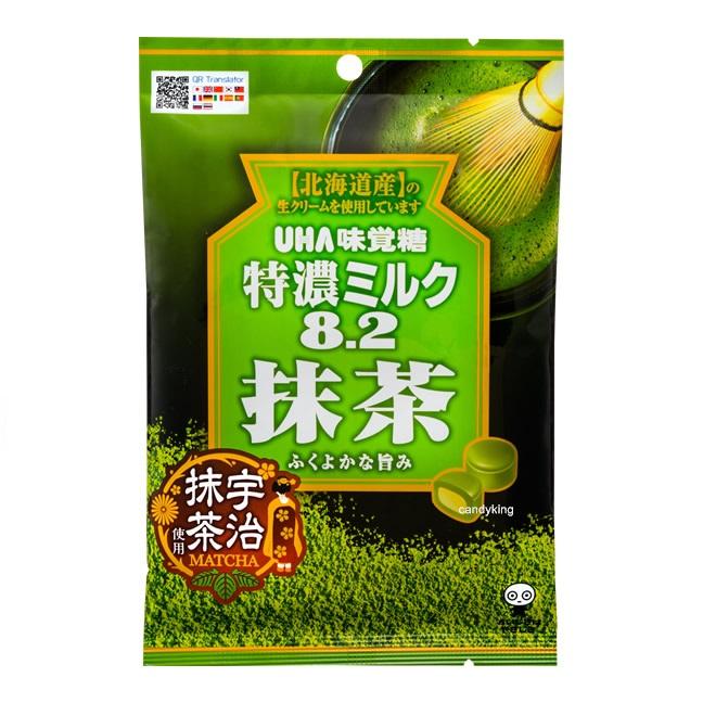 日本糖果 UHA味覺糖 抹茶牛奶糖