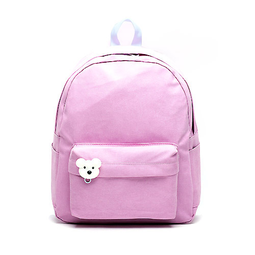 後背包 韓國品牌AFRICA RIKIKO 水洗布後背包 NO.126 라벤더(Lavender) - 包包阿者西