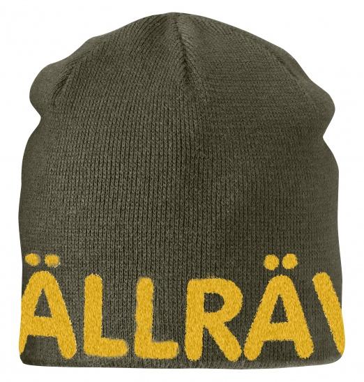 【鄉野情戶外專業】 Fjallraven |瑞典| Are Beanie 小狐狸保暖帽/毛線帽 針織帽 滑雪帽-棕綠/77262