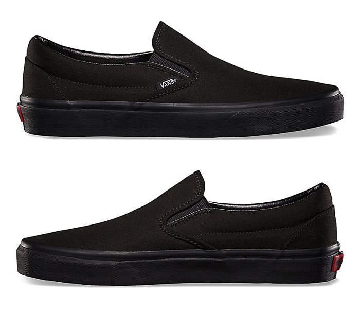 VANS SHOES - VANS - 基本款Slip On-全黑款(c966199)