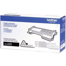(三支入特惠組)Brother TN-450 原廠高容量碳粉---適用DCP-7060,HL-2200,2240,MFC-7360,7460,7860