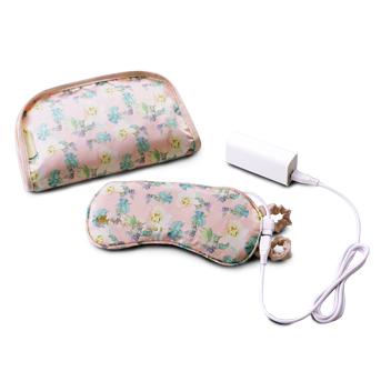 【春夏限定】LOURDES AX-KX511mw 充電式溫熱眼罩(芍藥花款)