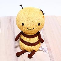 日本Karel Capek(中)「再入荷」超可愛小蜜蜂Buzzy玩偶-來自日本山田詩子紅茶店的可愛周邊玩偶「缺貨待補貨」