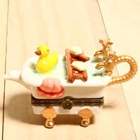 日本進口鴨鴨澡盆戒盒