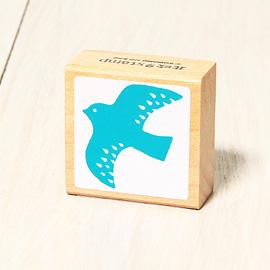 「Kodomo小孩牌」北歐系列小印章-北歐小鳥