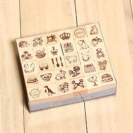 日本「Tokyo Antique古典東京」~經典小物印章組