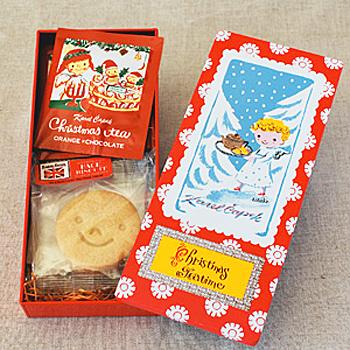 Karel Capek「2012聖誕節鐵盒限定款餅乾茶包組」-自由之丘茶品名牌山田詩子紅茶