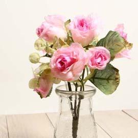 仿真花系列 「乾燥玫瑰」- 典雅粉 「新品」