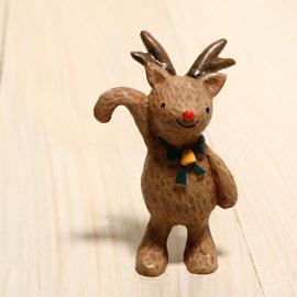 日本Hello舉手小動物擺飾-2013Hello聖誕麋鹿「再入荷」