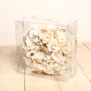 日本Sanwa Trading「索拉花」- 白色小花圈「新品」
