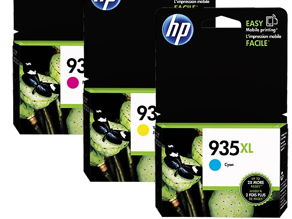 HP㊣原廠墨水匣C2P24AA藍色C2P25AA紅色C2P26AA黃色(NO.935 XL/935XL)(單支顏色任選)適用HP 6830e/6835e/6230/6830 印表機