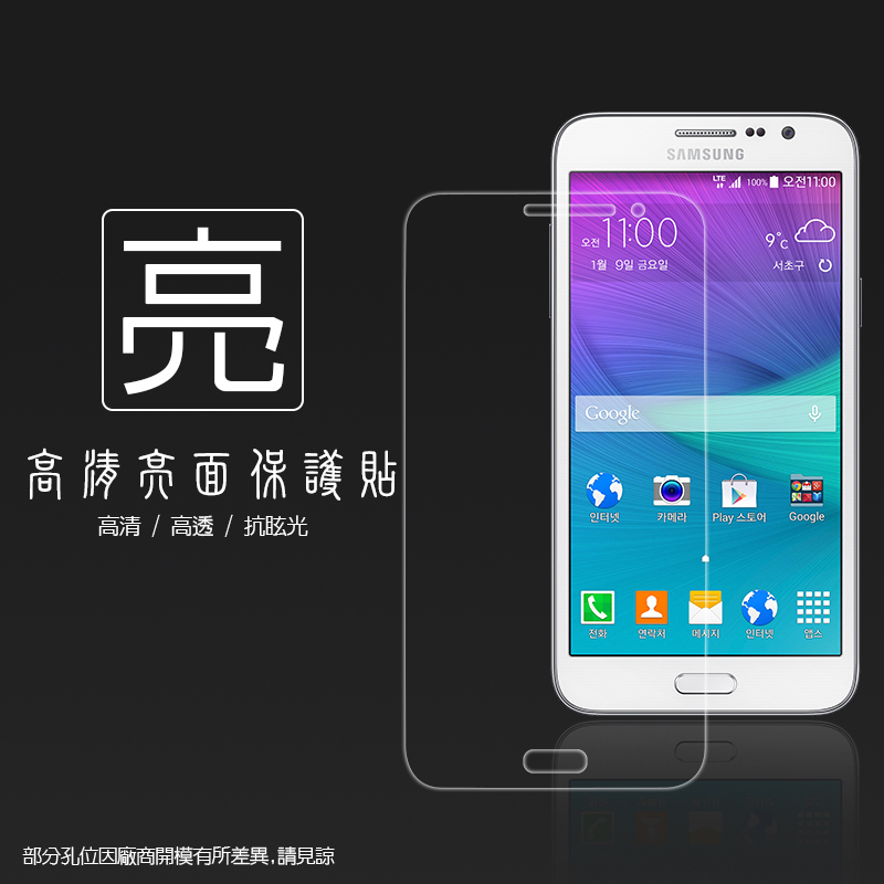 亮面螢幕保護貼 Samsung Galaxy Grand Max G720 保護貼