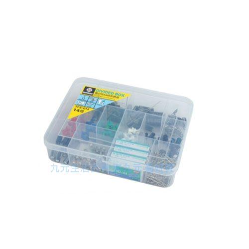 【九元生活百貨】聯府 TFS-014 看的見14格收納盒 置物 收納 TFS014