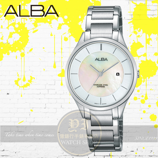 ALBA 劉以豪代言Fashion Lady時尚俏女孩腕錶VJ22-X237S/AH7L35X1公司貨/情人節禮物