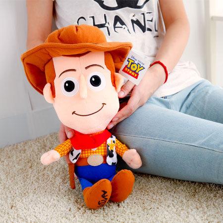 正版玩具總動員胡迪Q版娃娃 胡迪警長 布偶 玩偶 造型娃娃 Toy Story 迪士尼 皮克斯 【B060622】