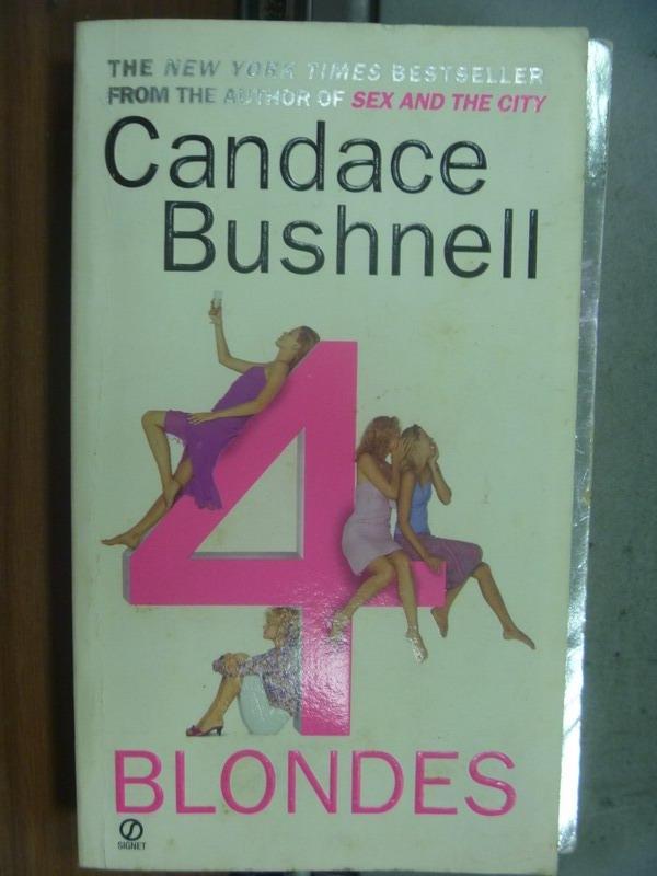 【書寶二手書T3/原文小說_MNW】Blondes_Candace bushnell
