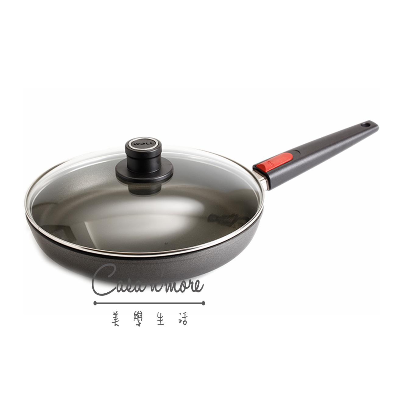 WOLL 1528N 不沾鍋 + 鍋蓋 ( 鈦合金, 28cm, 手柄可拆 ) 德國製造