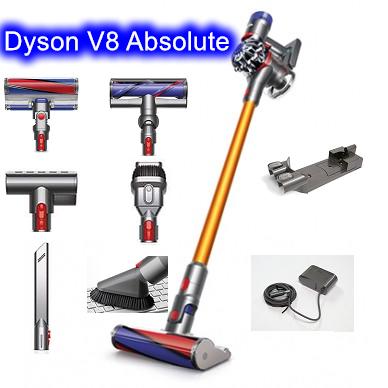 [建軍電器]現貨可面交 最新Dyson V8 SV10 Absolute 六吸頭版(MH+Fluffy)雙主吸頭