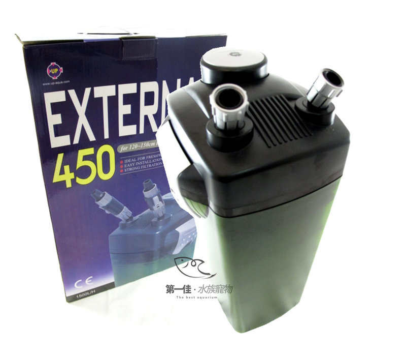 [第一佳 水族寵物] 台灣雅柏UP External外置式圓桶過濾器 [450型] 免運
