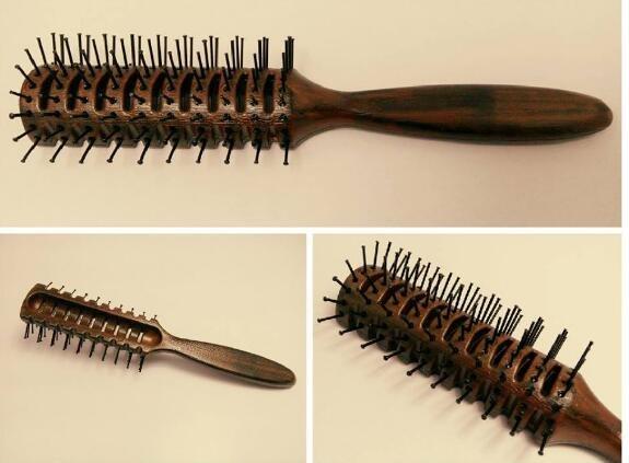 專業 梳子 木紋排骨梳子 #242 另有 乾髮梳 圓梳 魔法梳 神梳  ☆真愛香水★