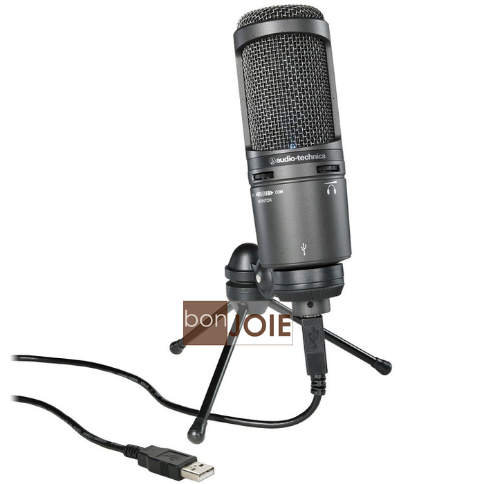 ::bonJOIE:: 美國進口 鐵三角 Audio-Technica AT2020USB+ 麥克風 (全新盒裝) AT2020 USB PLUS USB+ Microphone MIC