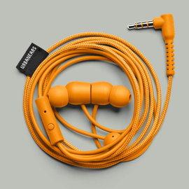 志達電子 BAGIS bonfire orange營火橘 Urbanears 瑞典設計 耳道式耳機 For Android Apple