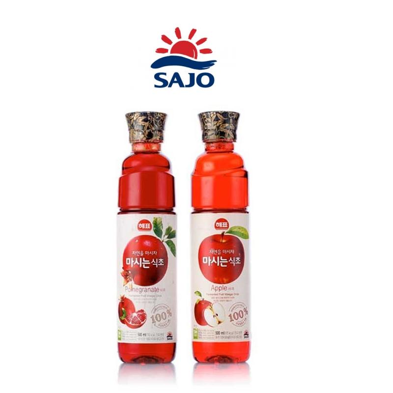 有樂町進口食品 韓國人氣水果醋 思潮水果醋500ml  蘋果醋 石榴醋 8801039916308