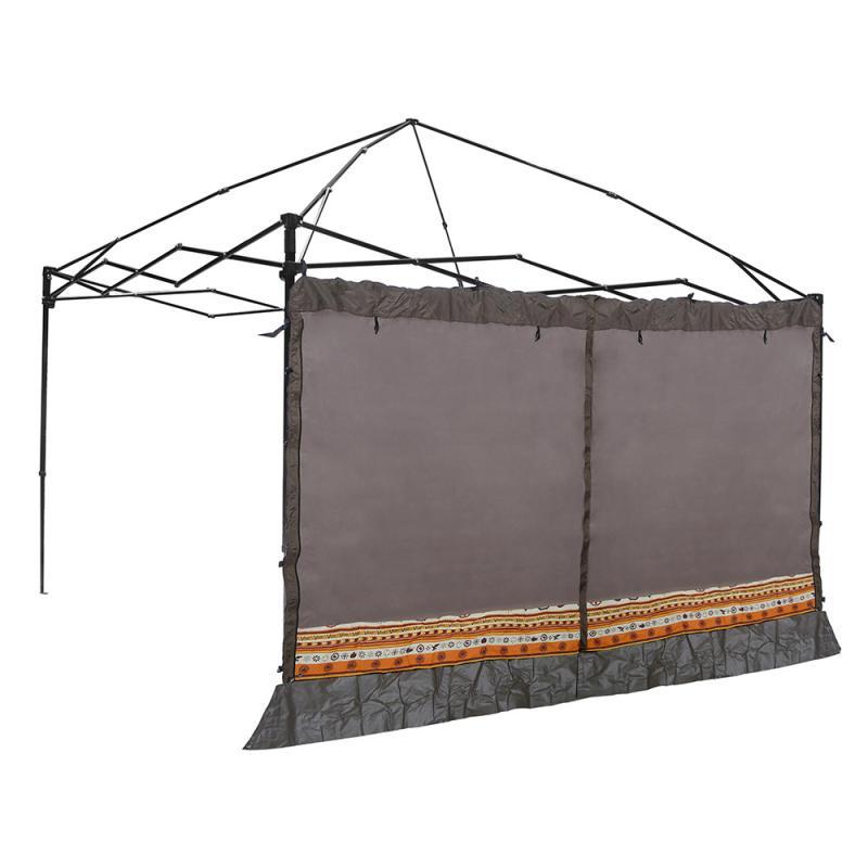 【大山野營】中和 Outdoorbase 23113 歡樂(炊事)客廳帳專用邊布 圍布-咖啡(附收納袋)