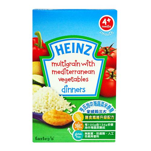 ★衛立兒生活館★美國 Heinz亨氏 地中海蔬菜米麥精-125g