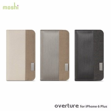 moshi Overture for iPhone 6  (4.7吋) 側開卡夾型保護套