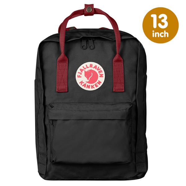 【鄉野情戶外專業】Fjallraven |瑞典|  Kanken Laptop 13 inch 經典款方型電腦包/小狐狸背包/27171 《黑/公牛紅》