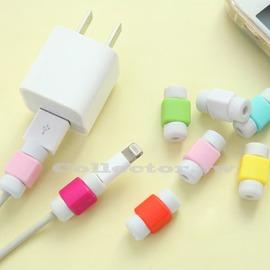 【K16010501】糖果色蘋果數據線i線套 iphone/ipad充電線保護套 耳機保護套