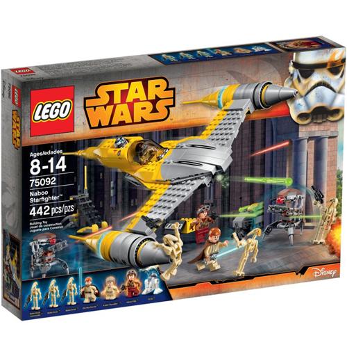 樂高積木LEGO《 LT75092 》2015 年 STAR WARS™ 星際大戰系列 - 納布星際戰鬥機™
