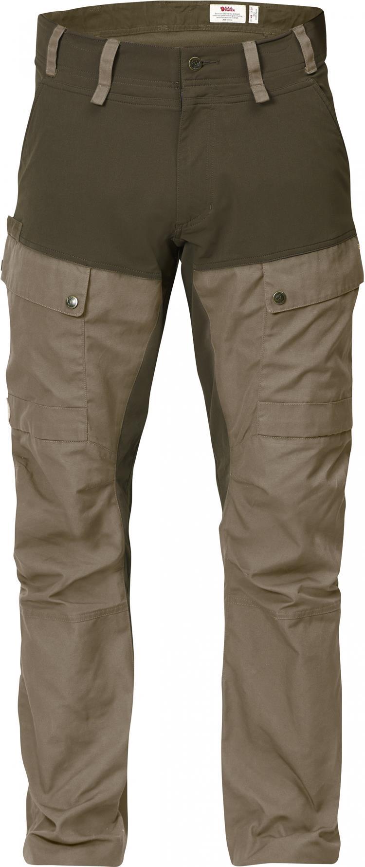 Fjallraven 小狐狸 Lappland Hybrid 狩獵長褲/工作褲/多口袋獵裝 男 90647 284褐灰