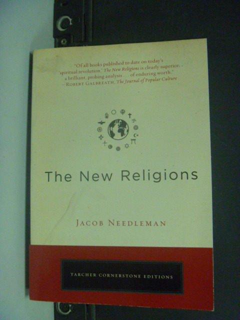 【書寶二手書T9/宗教_KHA】The New Religions_Needleman, Jacob