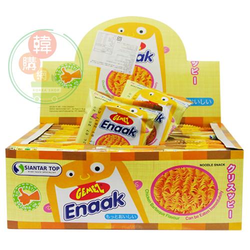【韓購網】韓國Enaak香脆雞汁點心麵480g(30入/盒)★小雞脆麵雞汁點心麵★韓國餅乾點心