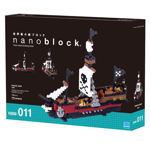 《 Nano Block 迷你積木 》NBM-011海盜船