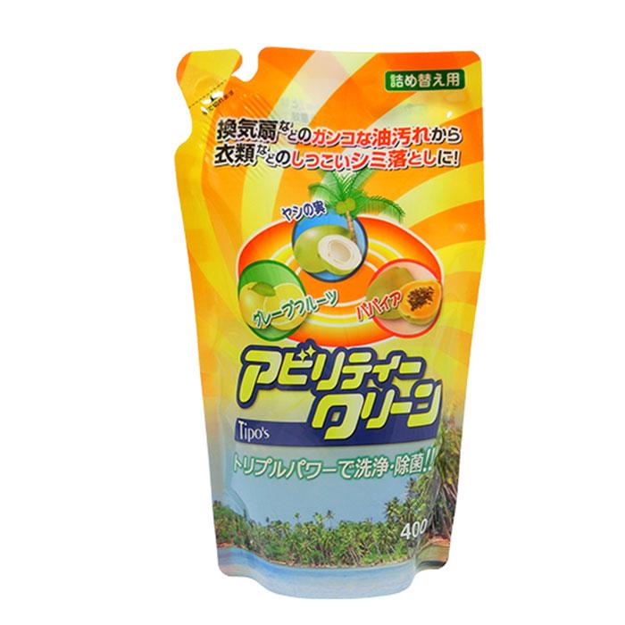 【友和】天然植物萬用清潔劑(補充包) 400ml