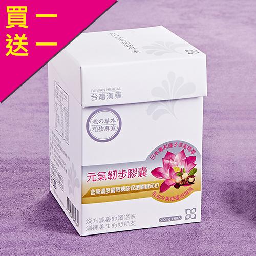 買一送一 台灣漢藥 元氣韌步膠囊 二型膠原蛋白+葡萄糖胺+乳油木果