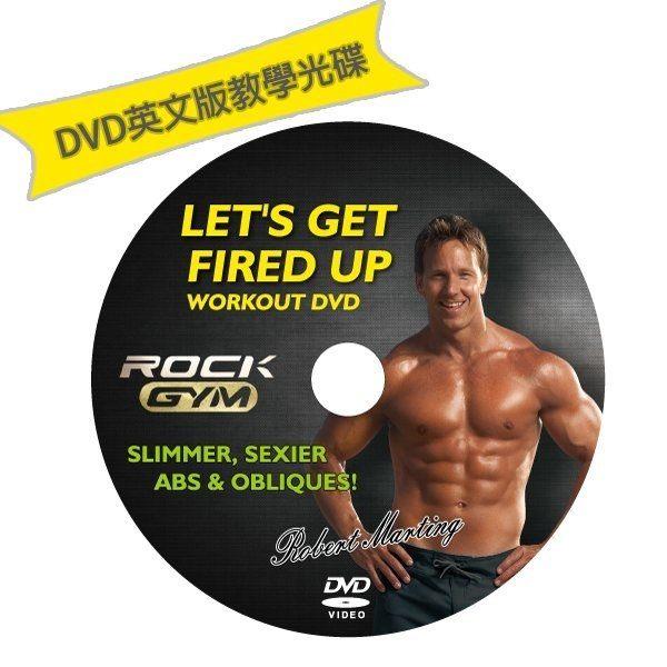 【 Rock Gym 8合1搖滾運動機   】單售DVD教學光碟 x1片