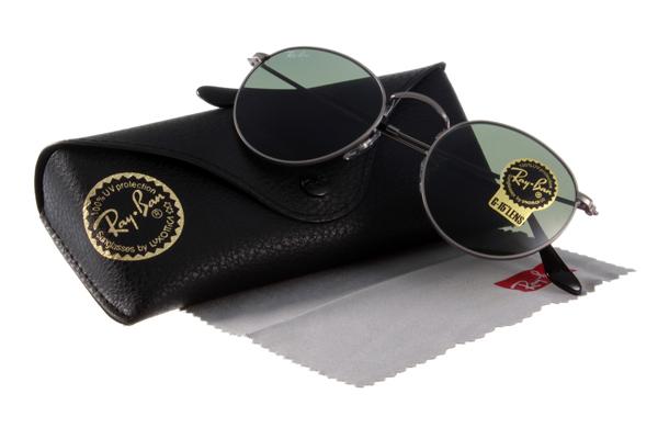 Ray Ban 雷朋 銀黑綠鏡色 太陽眼鏡 RB3447