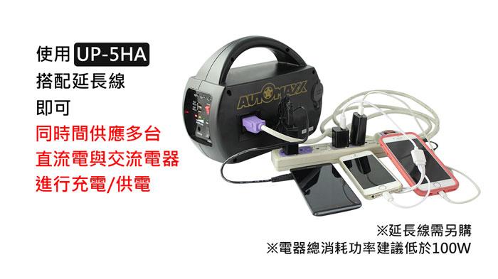AUTOMAXX★UP-5HA DC/AC專業級手提式行動電源圖