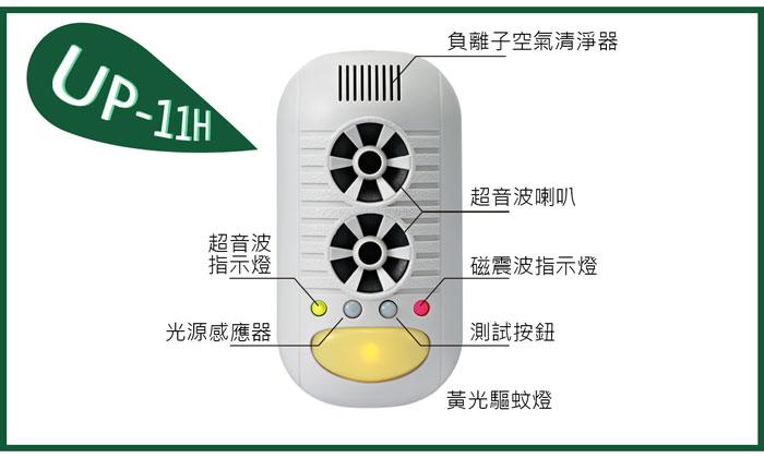 UP-11H,廚房清潔專家,超音波驅鼠器