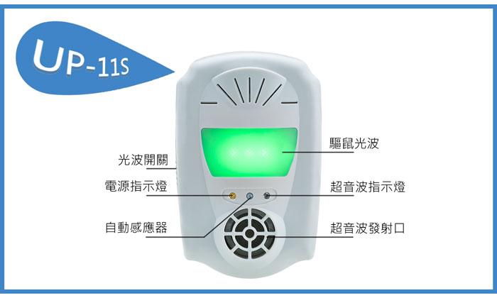 UP-11S,夾層清潔專家,超音波驅鼠器,驅鼠
