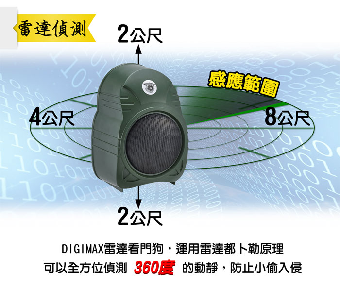 都卜勒 雷達 防盜器 警報器
