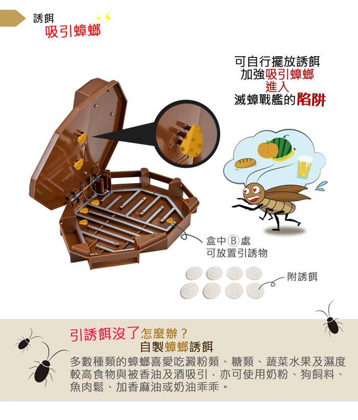 DigiMaxUP-6EA滅蟑戰艦環保電子捕蟑器網頁 產品特色描述