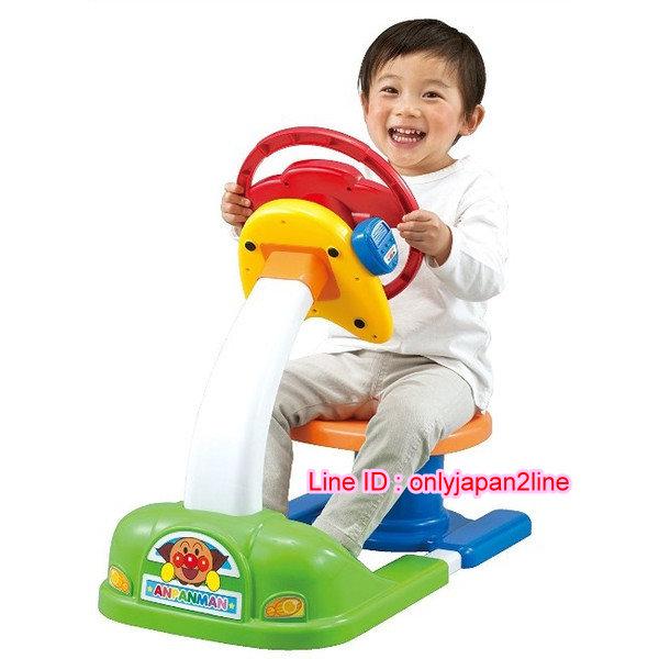 【真愛日本】16110800015方向盤坐駕玩具組-ANP   電視卡通 麵包超人 細菌人 兒童玩具 正品 限量