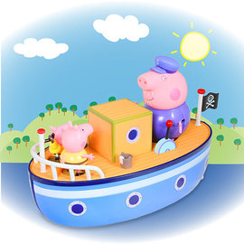 *babygo*粉紅豬小妹 Peppa Pig -爺爺豬的船PE05060