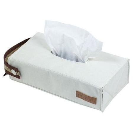 面紙盒 吊掛平放兩用 Estraria 象牙白