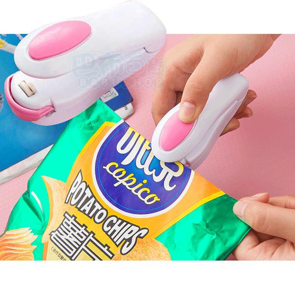 多功能家用食品保鮮袋微型封口機(1入)【巴布百貨】